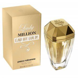 Paco Rabanne «Lady Million Eau My Gold!» 80 ml